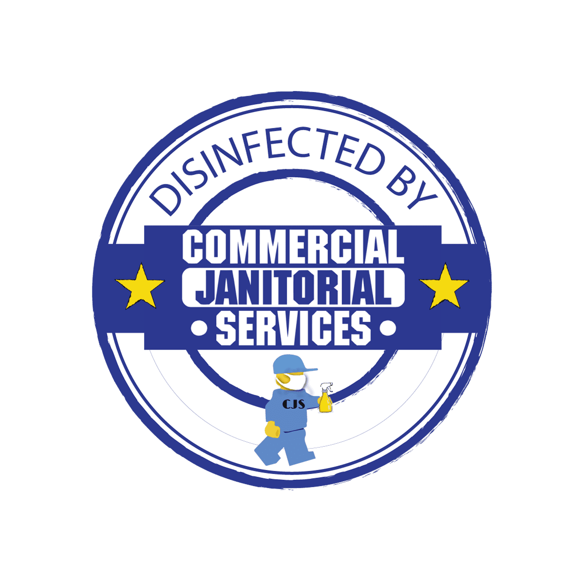 commercial janitorial disinfecting logo